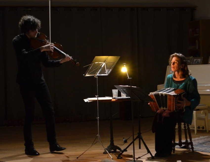 Un concert Bandalena organisé à Saint-Jean-des-Arts (Revest-des-Brousses) le 29/04/17