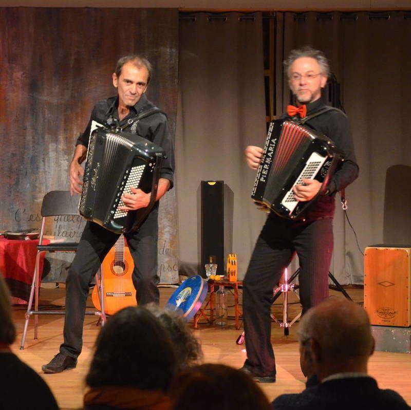Samuel Peronnet et Riton Palanque