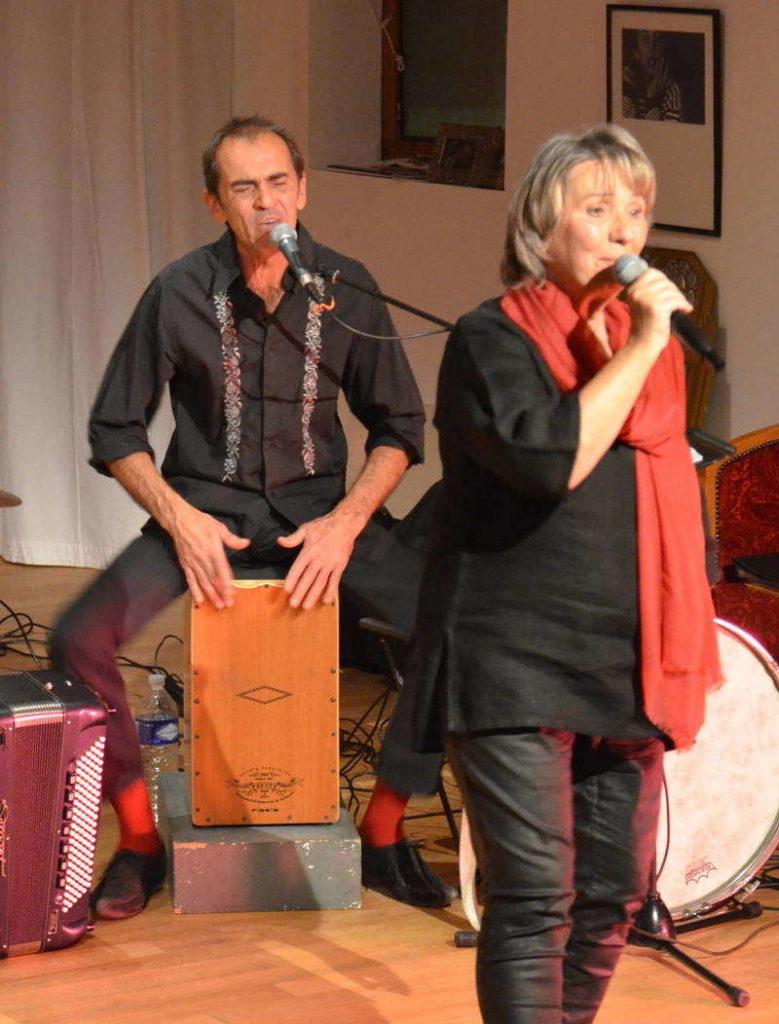 Riton Palanque et Martine Scozzesi